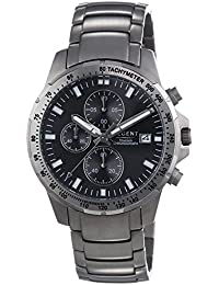 Regent Herren-Armbanduhr XL Analog Quarz Titan 11090325