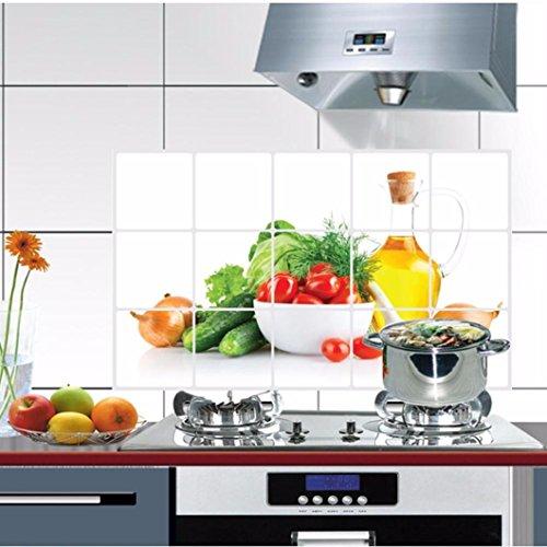 VOVO ❤️❤️Vovotrade Küche Öldicht Abnehmbare Wandaufkleber Kunst