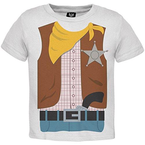 Cowboy Kostüm Kleinkind T-Shirt-2 (Cowboy 2t Kostüme)