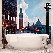 Città Venezia San Marco foto carta da parete Immagine di sfondo (335fw), Carta (NO TESSUTO NON TESSUTO), XXL - 368cm x 254cm