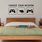 "Radecal ""CHOOSE YOUR WEAPON"" 