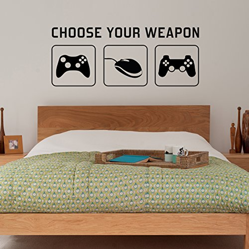 radecal-choose-your-weapon-video-game-gaming-vinyl-decal-wall-sticker-mural-kids-children-teenager-t