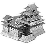 Fascinations Metal Earth MMS055 - 502576, Himeji Castle, Konstruktionsspielzeug, 3 Metallplatinen, ab 14 Jahren