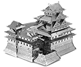 Fascinations Metal Earth MMS055 - 502576, Himeji Castle, Konstruktionsspielzeug, 3 Metallplatinen, ab 14 Jahren