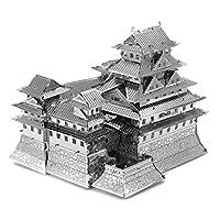 Fascinations-Metal-Earth-MMS055-502576-Himeji-Castle-Konstruktionsspielzeug-3-Metallplatinen-ab-14-Jahren Fascinations Metal Earth MMS055 – 502576, Himeji Castle, Konstruktionsspielzeug, 3 Metallplatinen, ab 14 Jahren -