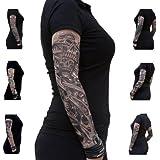 Nylon Tattoo Ärmel - Totenkopf - Skull - Einzeln oder als 6er Set