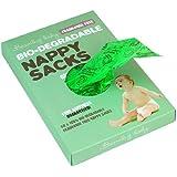 Beaming Baby Bio-degradable Nappy Sacks Fragrance Free - 5 x packs of 60 (300 bags)