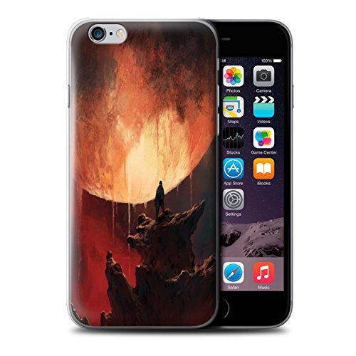 Offiziell Chris Cold Hülle / Case für Apple iPhone 6+/Plus 5.5 / Pack 12pcs Muster / Fremden Welt Kosmos Kollektion Schmelzen Sonne