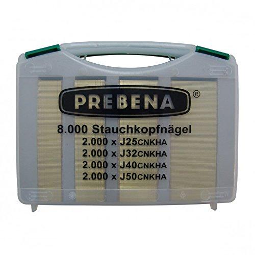 Prebena 2X R-J50Cloueuse sans fil Combi Set incl. Clous Pour Cloueur