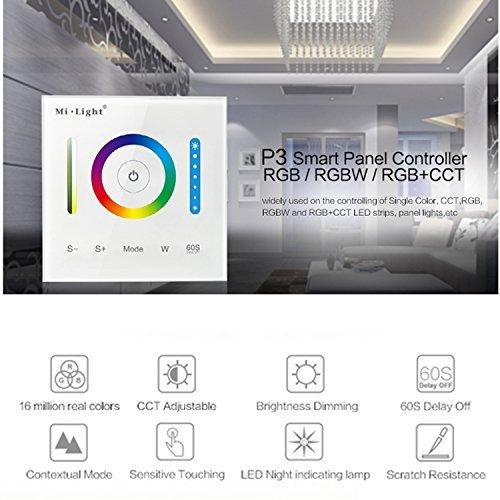 Milight Touch Panel Led Controller DC12–24V RGB RGBW RGB + CCT LED Touch Schalter Panel Glühbirne Controller LED Dimmer für LED-Strip-Licht Touch-led
