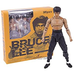 Kung Fu Star Bruce Lee PVC Action Figure Collectible Model Toy