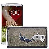 Grand Phone Cases Bild Hart Handy Schwarz Schutz Case Cover Schale Etui // M00141005 Cape Barren Gänse Gänse Tier // LG G2 D800 D802 D802TA D803 VS980 LS980