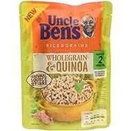 Uncle Ben's Microwave Wholegrain & Quinoa Rice 220g Pouch