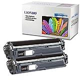 Liondo 2 Toner Kompatibel zu Brother TN-241 TN-245BK HL-3150 3170CDW DCP-9022CDW MFC-9142CDN MFC-9332 9342CDW - Schwarz je 2.500 Seiten