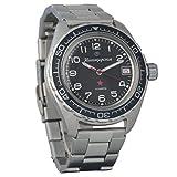 Marke Neu. Wostok komandirskie 200WR Herren Armbanduhr Mechanische automatische Armbanduhr Automatik # 020706
