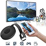 Frittle ACC5 HDMI Receiver 1080P HDMI TV DLNA Wireless Dongle Compatible with All Android,iOS & Windows Device (Random Colour)
