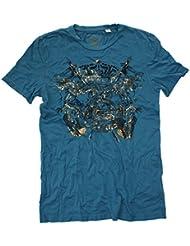 Z-BRAND Herren T-Shirt Shield Electric