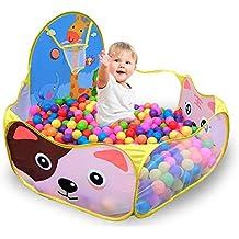 Tienda de campaña para niños Casa de juego para niños pequeños Dibujos animados Parque infantil Tiro