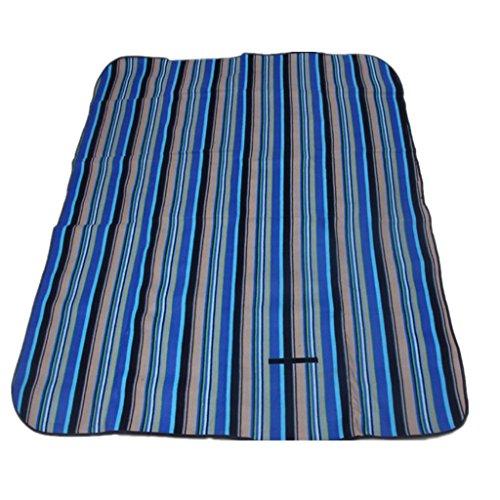 Aufblasbares Bett HETAO Air Bed Samt Nudeln Picknick Matte Kinder Crawling Pad Outdoor Feuchtigkeit Kissen 200 * 150cm , 2 Matratze