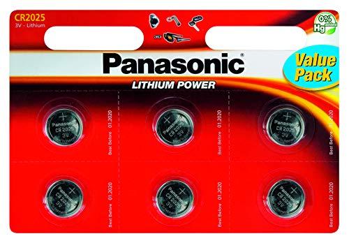 Panasonic Lithium-Batterien 2er Pack (Panasonic Cr2025)