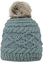 Barts Damen Baskenmütze Claire Türkis (Dark Celadon), One size (Herstellergröße: Unica)