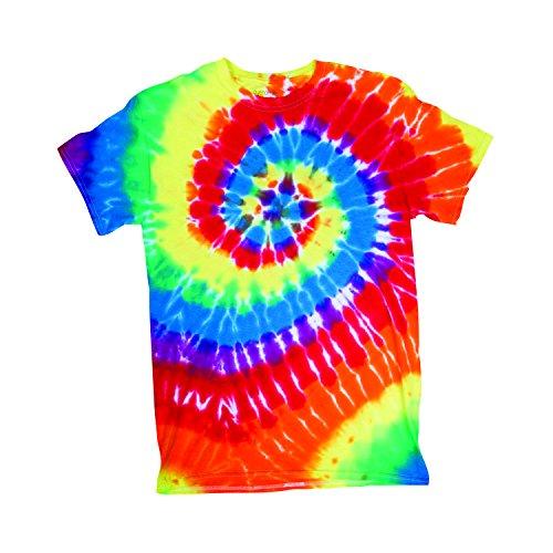 Dyenomite Herren T-Shirt, Einfarbig Opaque Mehrfarbig Mehrfarbig