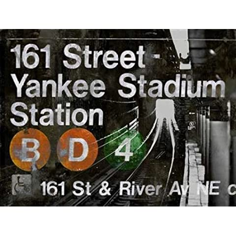 Impresión de Arte Fino en lienzo : NYC Subway Station II by Wilson, Luke - Medio (140 x 106 Cms)