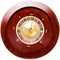 Brybelly Casino Grade Deluxe Holz Roulette-Rad