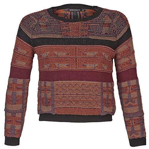 Antik Batik AMIE Pullover & Strickjacken Femmes Rot - DE 34 (EU 36) - Pullover
