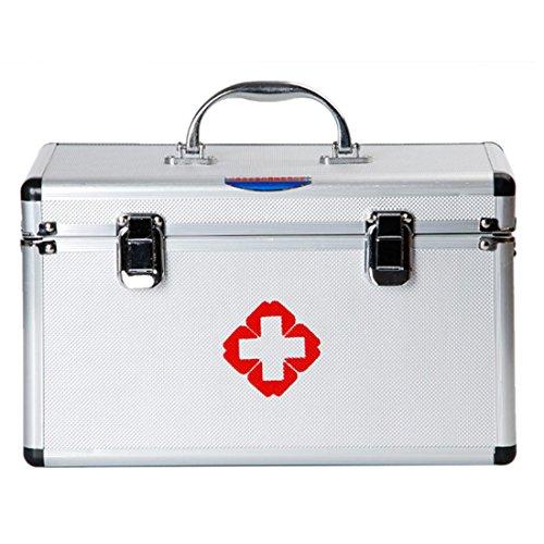 Medizinbox Groß, Teckpeak Medizinbox Hausapotheke Medizin-Box Erste Hilfe Koffer