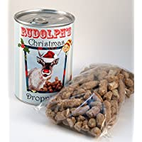 Tin of Rudolph's Droppings - Fun Christmas Gift