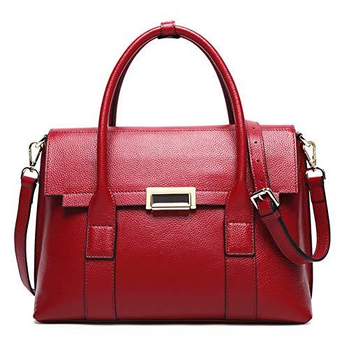 HWUDFSLG Frauen Totes Tasche Weibliche Patent Frauen Taschen Mobile Messenger Schultertasche Luxus Marke Damen Handtasche - Patent Shopper Tote