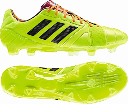 Nitrocharge 1.0 TRX FG - Chaussures de Foot Solar Slime/Noir/Zeste Solaire yellow