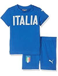 Puma FIGC Baby's Italia Football Strip sky blue