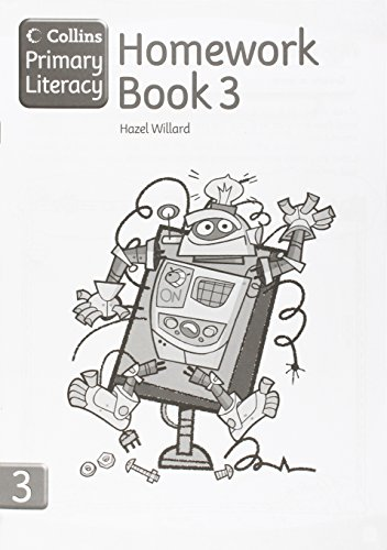 Collins Primary Literacy – Homework Book 3: Homework Book Bk. 3