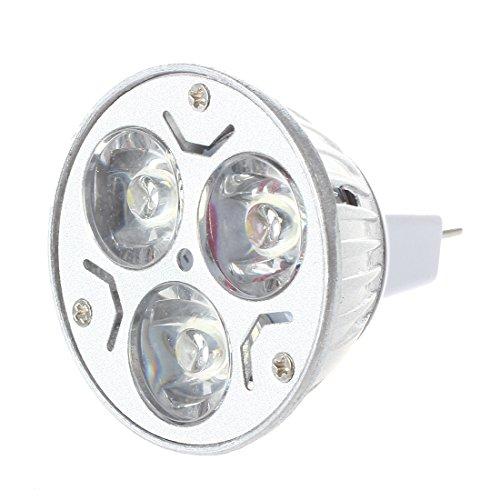 SonlineMR16 GU5.3 12V 3x1W Ampoule blanche fraiche