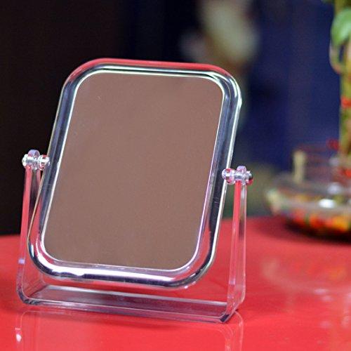 Evana Double-Sided Acrylic Magnifying Vanity Mirror, Large Size