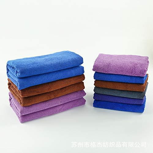 Trockenes Haar Pack (hongliu Nano-Mikrofasertuch, Weiches Reinigungstuch Für Die Autowäsche, Saugfähiges Handtuch Für Trockenes Haar, Küchen- Und Badezimmerreinigungstuch, 40 * 40 cm, 10Er-Pack)