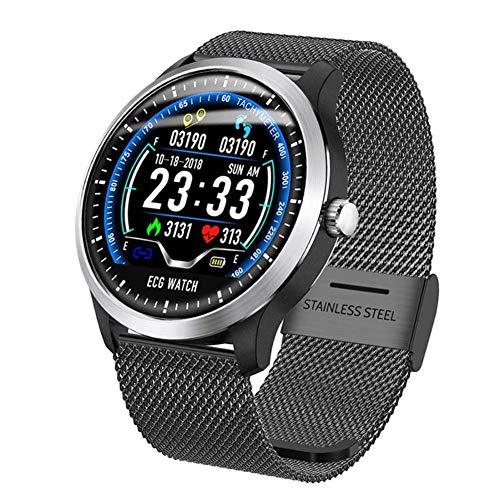 YZ-YUAN Sport Fitness Tracker - Intelligente Uhr mit KOSTENLOSEM, austauschbarem Band, Herzfrequenz, Blutdruck, Blutsauerstoff-Schlafmonitor, Kalorien-Schrittzähler für Schwimmlauf