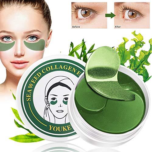30 Pairs Seaweed Augenpads, Eye Mask, Eye Patch, Kollagen Eye mask, Anti-Aging Pads Entlasten Sie Müdigkeit und straffe Haut - Für Falten, Feine Linien, Augenringe and Tränensäcke Care