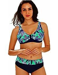 Maillot de Bain Femme 2 Pièces Bikini Grande Taille