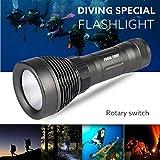 Unterwasser 500M 5000LM XM-L T6 LED Tauchen Taschenlampe wasserdichte Taschenlampe