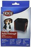 Trixie ciotola da viaggio, 1.8l, colore: Nero, confezione da 4