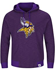 "Minnesota Vikings Majestic NFL ""Gameday 2"" Men's Pullover Hooded Sweatshirt Chemise"