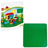 LEGO 2304 Duplo Large Green Building Plate Creative Preschool Toy