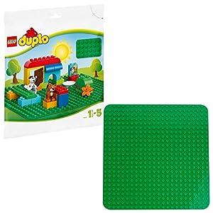 LEGO DUPLO Classic Base Verde Grande, Giocattolo per Bambini in Età Prescolare, 2304 LEGO