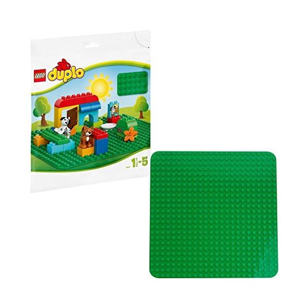 LEGO Duplo Base per Costruzioni, Verde, 2304 1 spesavip