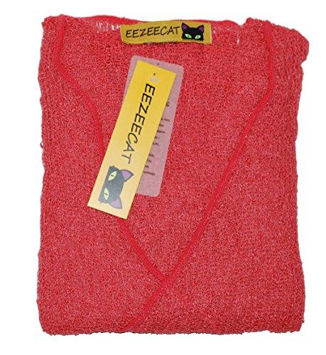 EeZeeCat Da donna, in maglia Greenhouses Coprispalle/Bolero top–see Massive gamma di colori Coral