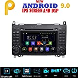 ANDROID 7.1 GPS DVD USB autoradio 2 DIN navigatore Mercedes classe B W245 / Classe A W169 / Sprinter / Vito / Viano / B200 / B150 / B170 / A180 / A150 / Crafter / LT3