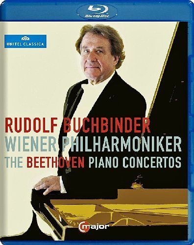 Rudolf Buchbinder/Wiener Philharmoniker - The Beethoven Piano Concertos [Blu-ray]